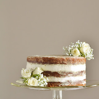 Naked Banana Cake with Cream Cheese Frosting