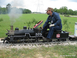 Photo: Paul King on his MKT 575.  HALS-SLWS 2009-0523