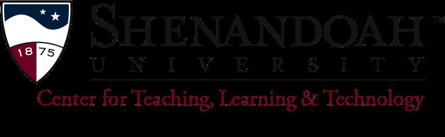 Shenandoah University Center for Teaching, Learning & Technology logo.