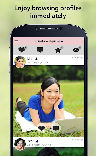 ChinaLoveCupid - Chinese Dating App 2.1.6.1559 screenshots 2