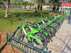 Photo: First TLV municipal bike rent.