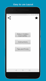 Hidden Camera Detector - Detect Hidden Cameras Screenshot