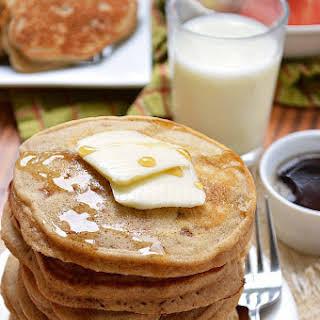 Gluten Free Cinnamon Apple Pancakes.