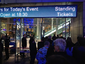 """Photo: Queuing for the """"Standing Tickets"""""""
