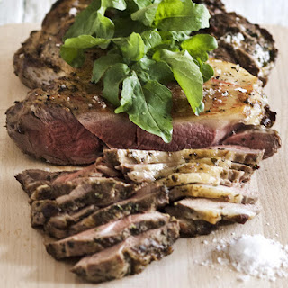 Roast Lamb with Greek Herbs