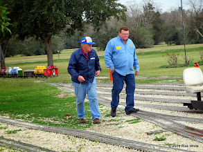 Photo: James Dafler and Pete Greene HALS Chili Fest Meet 2014-0228 RPW