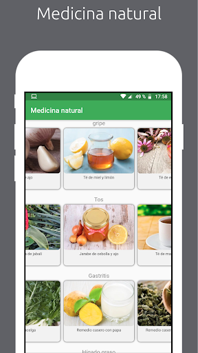 Natural : Medicina natural y recetas caseras screenshot 5