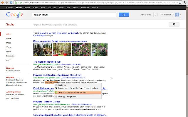 Haus-und-Garten Simple Search