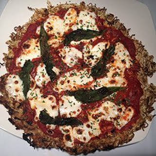 Miracle Noodle Crust Pizza.