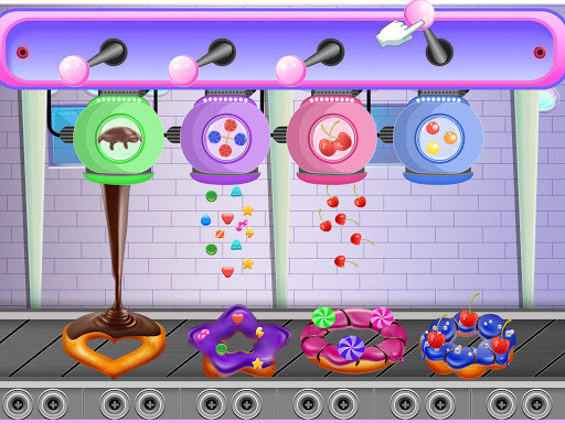 Donuts Cooking Factory: Baking Dessert in Kitchen android2mod screenshots 4
