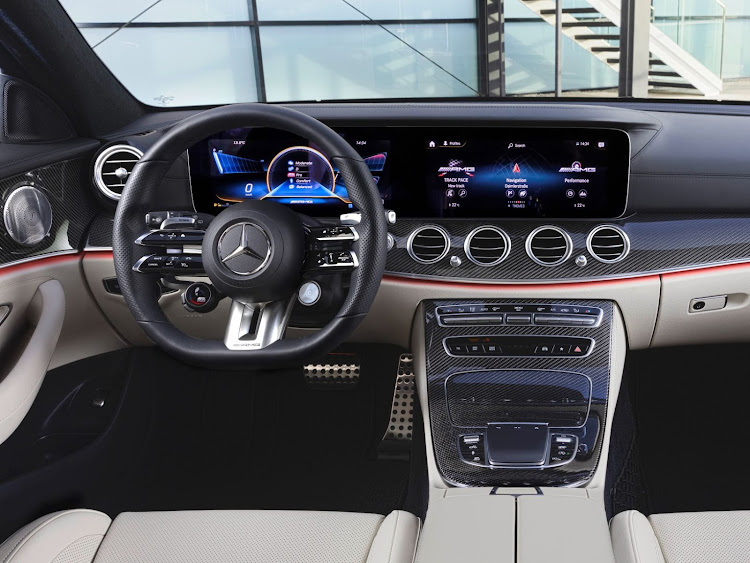 The interior sports a new six-spoke steering wheel.