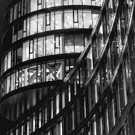 Lines by Michaela Firešová - Black & White Buildings & Architecture ( black and white, architectural detail,  )