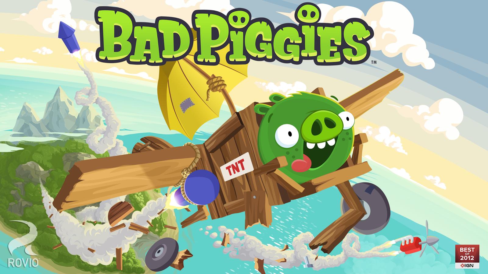 Bad Piggies – zrzut ekranu
