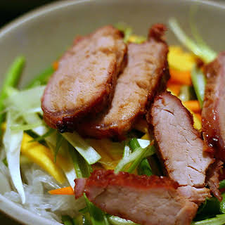 Cellophane Noodle Salad With Roast Pork.