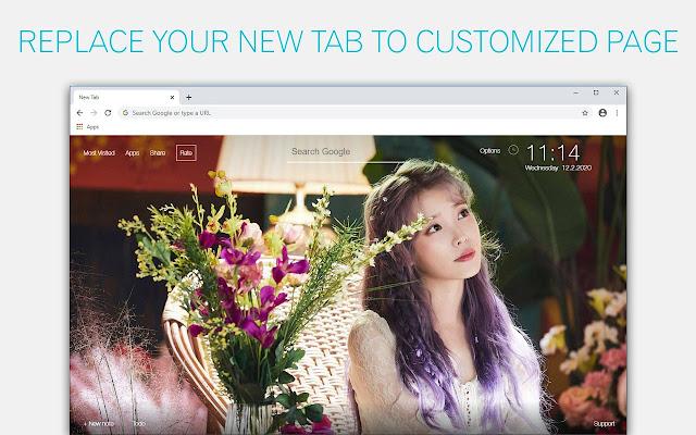 Kpop IU Wallpaper HD IU New Tab