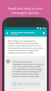Wedding Planner by WeddingWire - Checklist, Venues- screenshot thumbnail