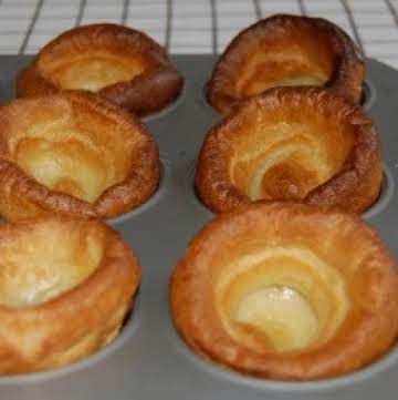 Yorkshire Pudding (perfect with Prime Rib)