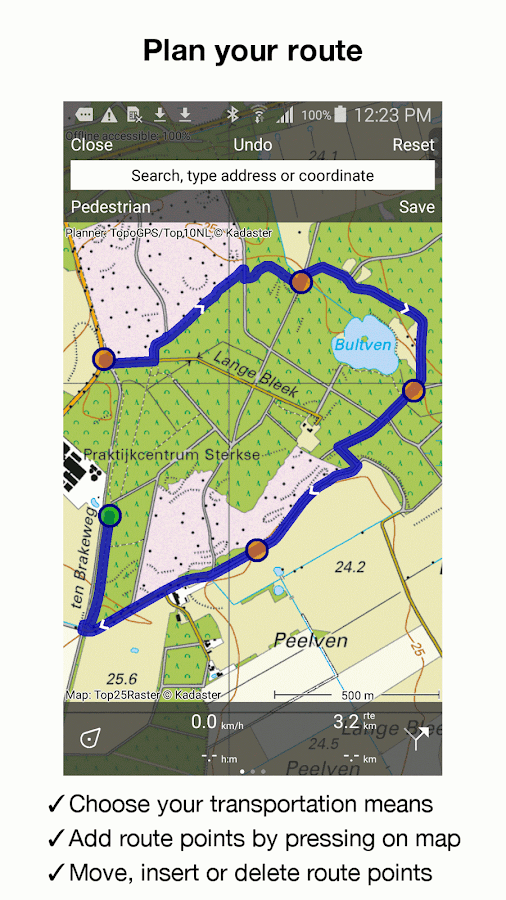 Topo GPS Netherlands Android Apps on Google Play