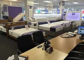 Beds on Display in the Sleepyhead-Beds Store