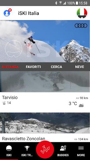 iSKI Italia - Ski, snow, resort info, GPS tracker screenshots 1