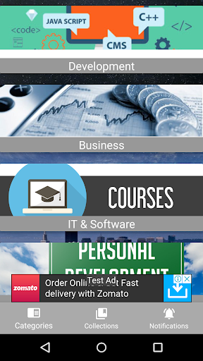Download Udemy Courses for free, Latest 1 0 version APK File