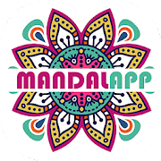 Mandalapp Coloring Book icon