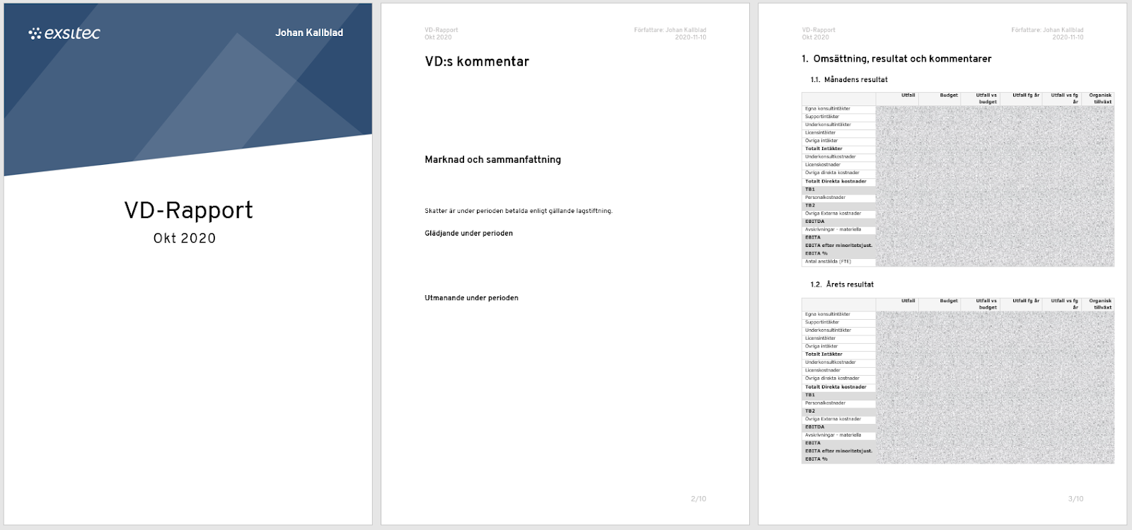 VD-rapport