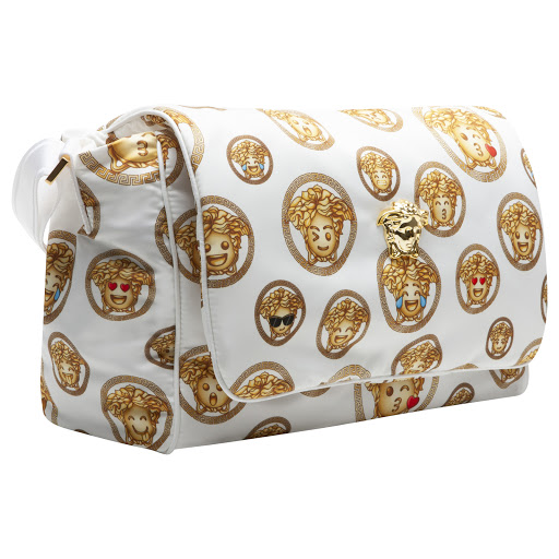 Thumbnail images of Young Versace Medusa Emoji Changing Bag