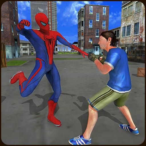 Super Hero VS Gangster City Battle