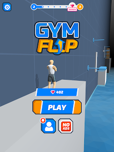 Gym Flip Mod Apk Latest 3.1 [No Ads + Fully Unlocked] 6