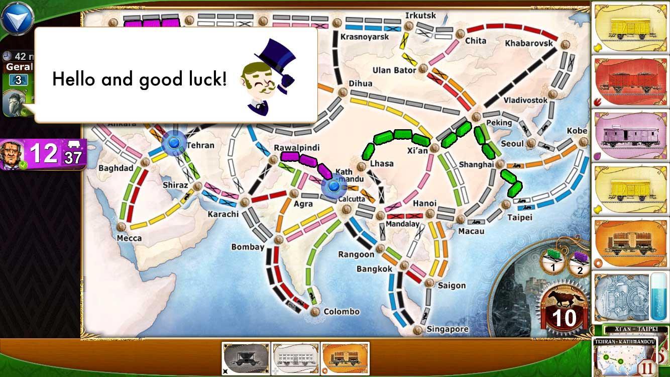 Ticket to Ride screenshot #5