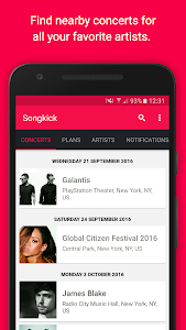 Songkick Concerts screenshot 3