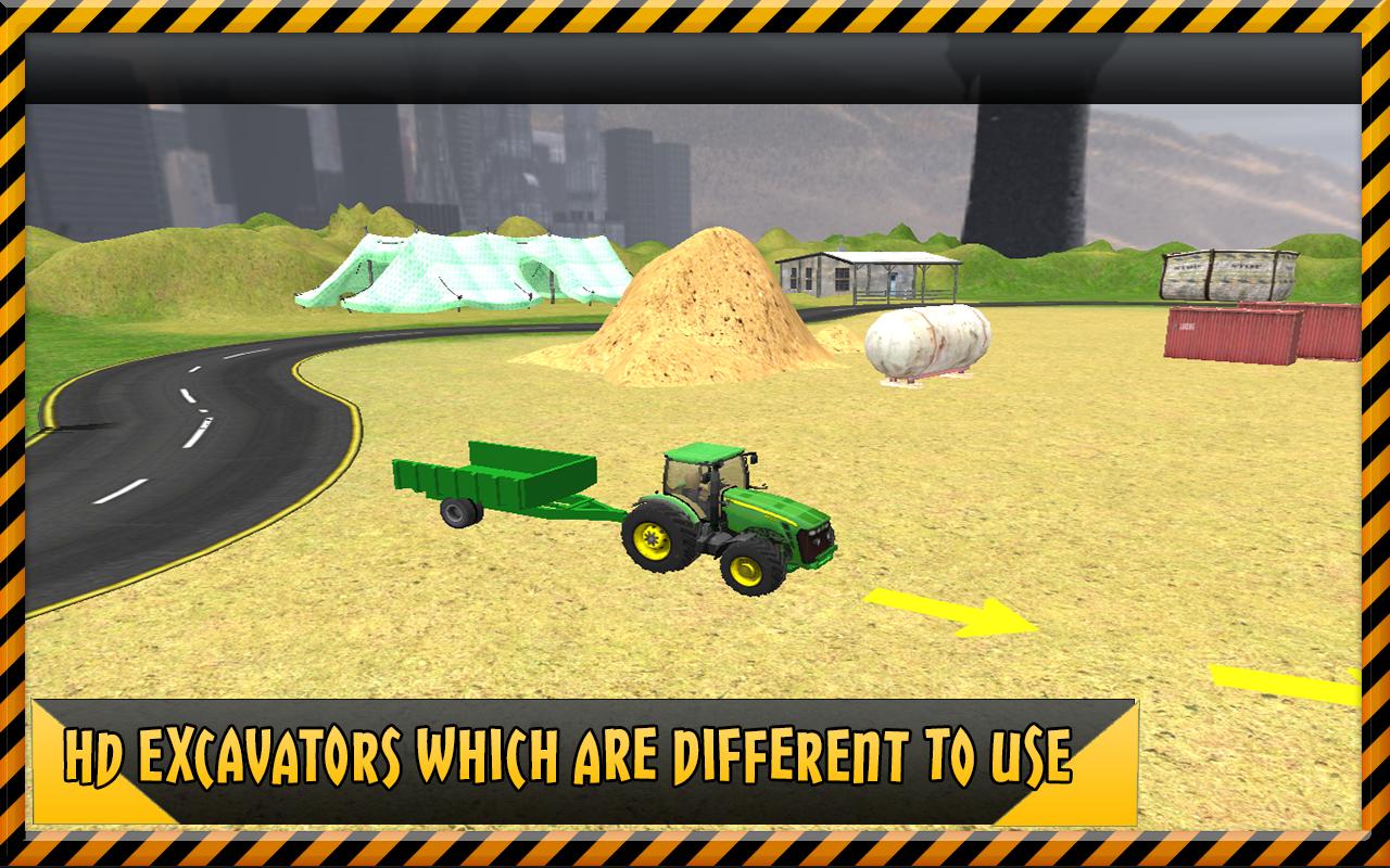 sand excavator crane simulator android apps on google play