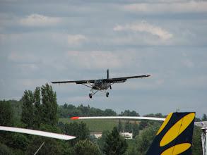 Photo: Pilatus PC6 Porter en courte finale