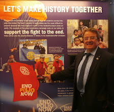 Photo: Great to see the German Governor Cycling Initiative 2014for End Polio Now!Also inside the RI presentations at Evanston.