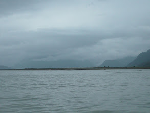 Photo: The delta of the Katzehin River in Chilkoot Inlet.
