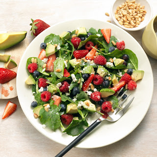 Very Berry Avocado Salad