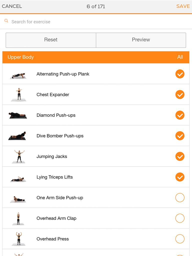 Sworkit: Workouts & Fitness Plans Screenshot 9