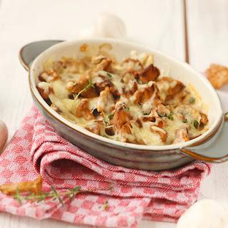 Pilz-Kartoffelauflauf