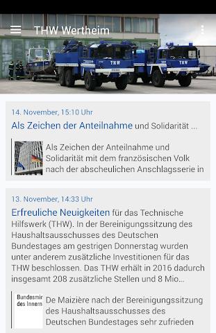 android THW Wertheim Screenshot 0