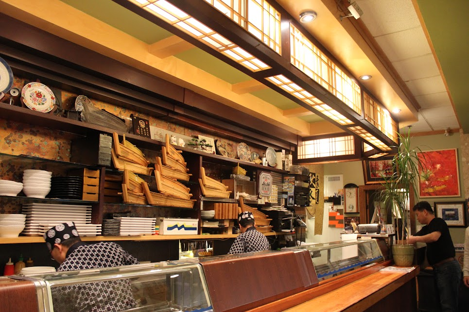 Chefs at Ichiban Fish House