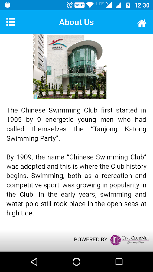 Chinese Swimming Club- screenshot