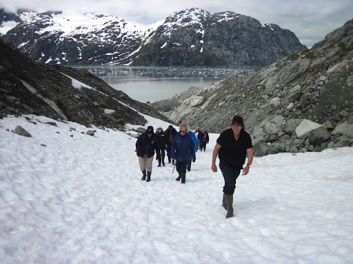 Uncruise-hiking.jpg - Enjoy hiking the glaciers of Alaska and British Columbia on an UnCruise Adventures cruise.