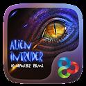 Alien Intruder Launcher Theme icon