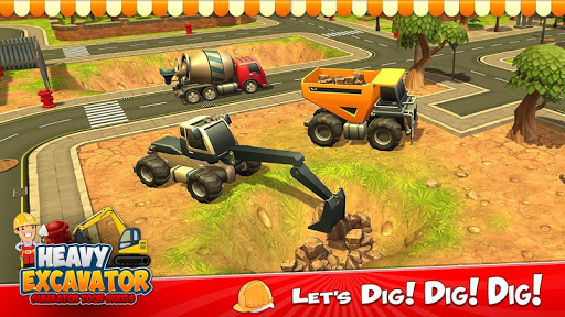 Heavy Excavator Crane City Construction Simulator 3.2 screenshots 11