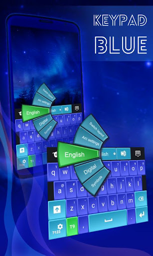 键盘蓝色类型
