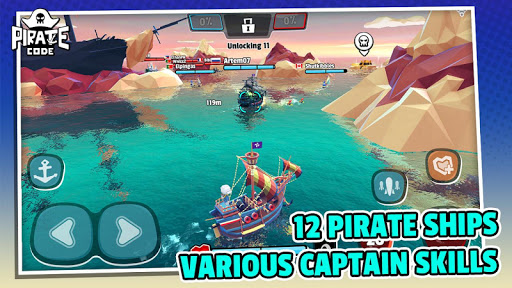 Pirate Code - PVP Battles at Sea  screenshots 4