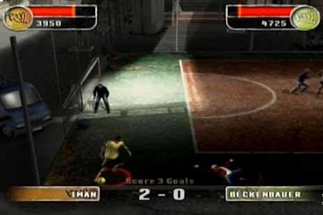 Guide FIFA Street 2 - náhled