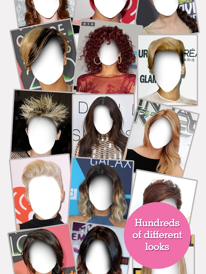 FACEinHOLE® - Hairstyles - Android Apps on Google Play