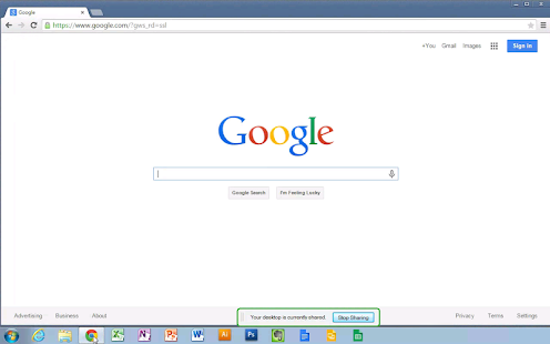 Chrome 遠端桌面 Screenshot